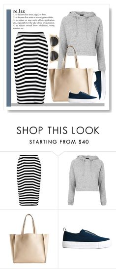 """Relax"" by perlarara ❤ liked on Polyvore featuring Alexander Wang, Topshop, Brunello Cucinelli, Eytys and Illesteva"
