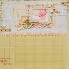 Crafty by AgnieszkaBe: Prima December, Prima Marketing, Layout, Crafty, Frame, Baby, Scrap, Home Decor, Picture Frame
