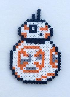 Star Wars Perler Bead Cross Stitch Pattern - Minecraft World 2020 Easy Perler Bead Patterns, Melty Bead Patterns, Perler Bead Templates, Bead Crochet Patterns, Diy Perler Beads, Perler Bead Art, Loom Patterns, Beading Patterns, Mosaic Patterns