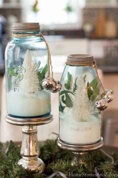 Tannenbäumchen im Glas
