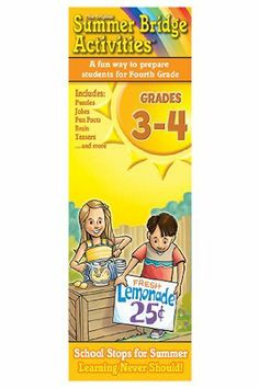 Summer Bridge Activity Cards Gr 3-4 by Carson Educational Products. $7.72. SKU.: RB-934105. Sold As 1 Each. Manufactured by .: Carson Dellosa. * Delight your kids with mind-bending, rib-tickling, brain-boosting fun! These Summer Bridge Activity Cards are a great companion to the award-winning workbook series, providing hours of fun for everyone. Each boxed set includes two decks of 79 full-color cards, which are held together with a corner grommet to keep the ...