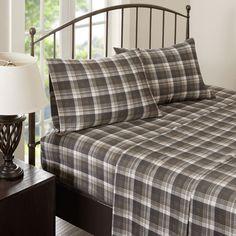 Tasha 100% Cotton Flannel Sheet Set