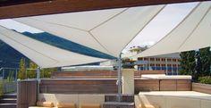 Voiles d'ombrage pour terrasse, véranda et atrium SOLTIS92   Serge Ferrari