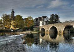 Wetzlar and Lahn River, Germany