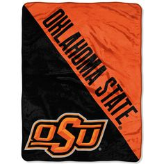 Oklahoma State Cowboys 46x60 Micro Raschel Throw Blanket - Rolled - Varsity (backorder)