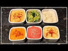 6 SALSAS VEGANAS FÁCILES - YouTube Palak Paneer, Hummus, Catering, Dips, Breakfast, Health, Ethnic Recipes, Vegans, Dressings