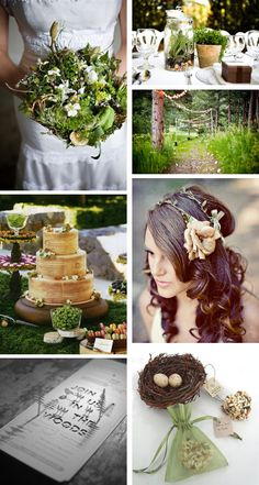 Looks like I need to create a board just for Woodland Weddings...