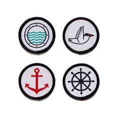 The Creatørs Club • The Sjø badge set