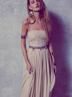 Free People Kristin's Limited Edition Sungazer Gown at Free People Clothing Boutique
