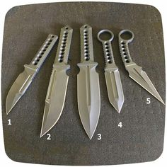 There all nice blades but 3 and 5 are awesome