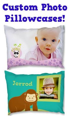 Create-Your-Own Photo Pillowcases for $4.49! {+ s/h} ~ these make such fun gifts, too!!