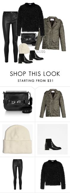 """""""Untitled #1871"""" by samikayy76 ❤ liked on Polyvore featuring Raey, Madewell, Helmut Lang, MaxMara and ASOS"""