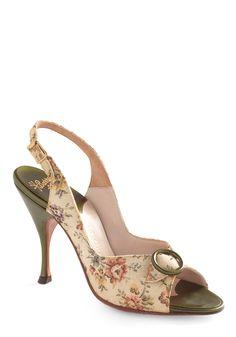 Vintage Reserve Philomena Heel   Mod Retro Vintage Heels   ModCloth.com