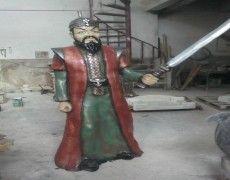 Tamerlane Statue