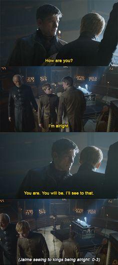 Tommen should check Jaime's scorecard