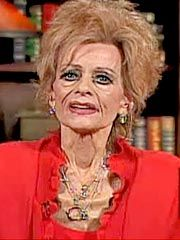 """The last living photo of Tammy Faye.  **Re: she would always say... """"I'll Love the Lord until I die."""""""