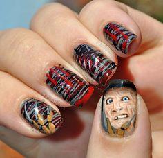 MadamLucks Beauty Journey: My Halloween themed nail art 2012