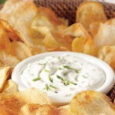 Blue cheese dip - LOVE blue cheese!