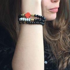 More bracelet together !! Black bracelets