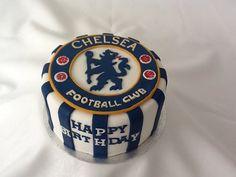 Chelsea football fan by Cupcake Magic www.kupcakemagik.ci.uk