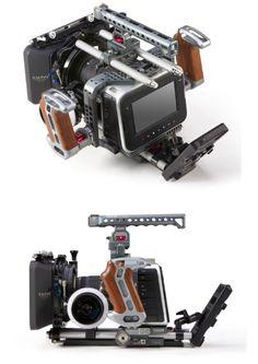 Tilta TT-BMC-05 15mm rail support with power supply system, follow focus and matte box.