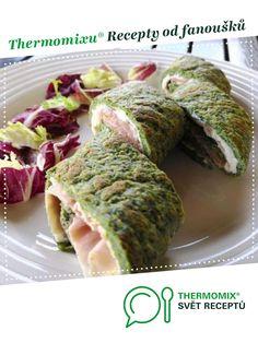 Low carb špenátová roláda od Evapple. A Thermomix <sup>®</sup> recept z kategorie Hlavní jídla - ostatní z www.svetreceptu.cz, Thermomix <sup>®</sup> skupina. Sup, Kitchen Machine, Mozzarella, Lowes, Pesto, Low Carb, Ethnic Recipes, Food, Thermomix