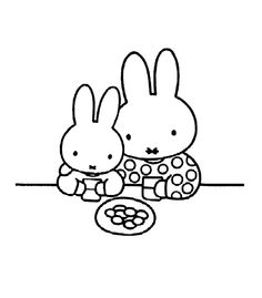 Miffy color page. Cartoon characters coloring pages. Coloring pages for kids. Thousands of free printable coloring pages for kids! Cool Coloring Pages, Cartoon Coloring Pages, Free Printable Coloring Pages, Adult Coloring Pages, Coloring Pages For Kids, Coloring Sheets, Coloring Books, Kids Cartoon Characters, Christian Kids