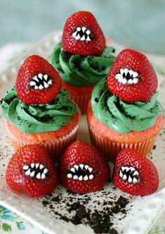cupcake and Halloween image