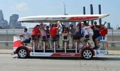 Saw this on Groupon - I think this sounds like a lot of fun!    Two-Hour Pedal-Powered Ride on the Traveling Tap for Up to 16 People (40% Off)  in Multiple Locations. Groupon deal price: $198