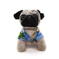 73c97c50b1a Beachy Plushie Doug The Pug