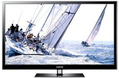Samsung PS60E579 152 cm (60 Zoll) 3D Plasma-Fernseher, EEK B (Full-HD, 600Hz SFM, DVB-T/C/S2) schwarz