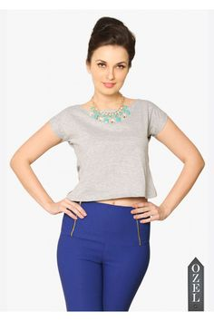 Back To The Basics Crop Top by Miss Chase