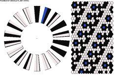 K5452 - friendship-bracelets.net Strings: 36 Colors: 3