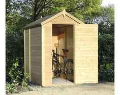 Buy a BillyOh Storer Tongue and Groove Apex Shed from Garden Buildings Direct