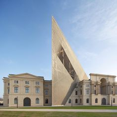 The Dresden Museum of Military History, which reopened last month following an extension by New York architect Daniel Libeskind.