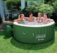 The Lay-Z Spa Inflatable Hot Tub is just one of Coleman's most prominent qualified products. On Amazon.com, it has obtained an average of 4.4 from 5 celebrities from over 175 customer reviews, which speaks with the first class products as well as wide variety of functions this hot tub needs to ... Read more .. http://hmppr.com/d/review-coleman-lay-z-spa-inflatable-hot-tub/