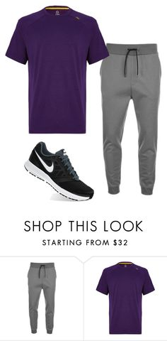 """""""Untitled #308"""" by tracie-renae on Polyvore featuring HUGO, Tasc Performance, NIKE, men's fashion and menswear"""