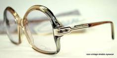 e5277a6e6b6 True NOS 70 s Vintage CAZAL mod 108 Eyeglass Frame HIP HOP Oldschool W.GER  S M