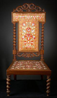 Birch Bark Chair, ca. 1832  Birch Bark Chair  Micmac, ca. 1832  birch bark, quills, wood  Collection of Glenbow Museum.
