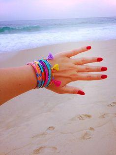 OOAK Brazilian Bracelet layered braceled by BrazilianBracelet