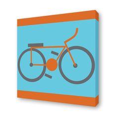 (2) Fab.com | Bike Print 15x15