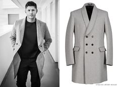 "stylebyjensenackles: "" What: Costume National Grey Coat 