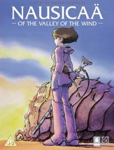 """Nausicaa of the Valley of the Wind (1984): One of Hayao Miyazaki's early films based on his epic manga of the same name.  Absolutely stunning visuals and a wonderful story about the importance of caring for the earth and all its creatures.  Trivia fun fact: The Ohm make a cameo appearance as a boss monster in the 1990 NES game """"Crystalis."""" Click to watch the Korean trailer, which is quite epic."""