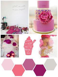 Color Me: Pink + Plum