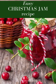 This Christmas jam recipe is easy and perfect for gift giving. Full of cranberries and other festive goodies, it's sure to be a treat.