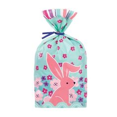 WILTON PEEK-A-BOO BUNNY PARTY BAGS 20 PACK