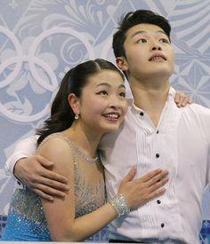 Maia Shibutani and Alex Shibutani, US.  AP photo