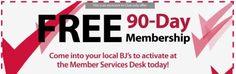 BJ's Warehouse Club Free 90-Day Trial Membership - US