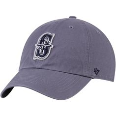 c77ad5637e1 Men s Seattle Mariners  47 Navy Borderland Clean Up Adjustable Hat.  MLBShop. Announce your enthusiasm for the ...