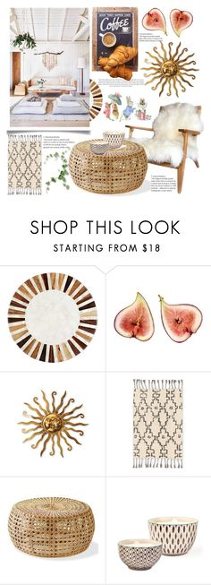 """""""Home & decor 🌅🌣"""" by anoo17k ❤ liked on Polyvore featuring interior, interiors, interior design, home, home decor, interior decorating, Deborah Rhodes, Loloi Rugs, Bambeco and Bebe"""